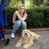 Boncuk mit Alessia im Europa Park