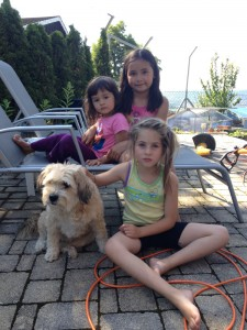 Boncuk mit Janice, Ananda & Luissa