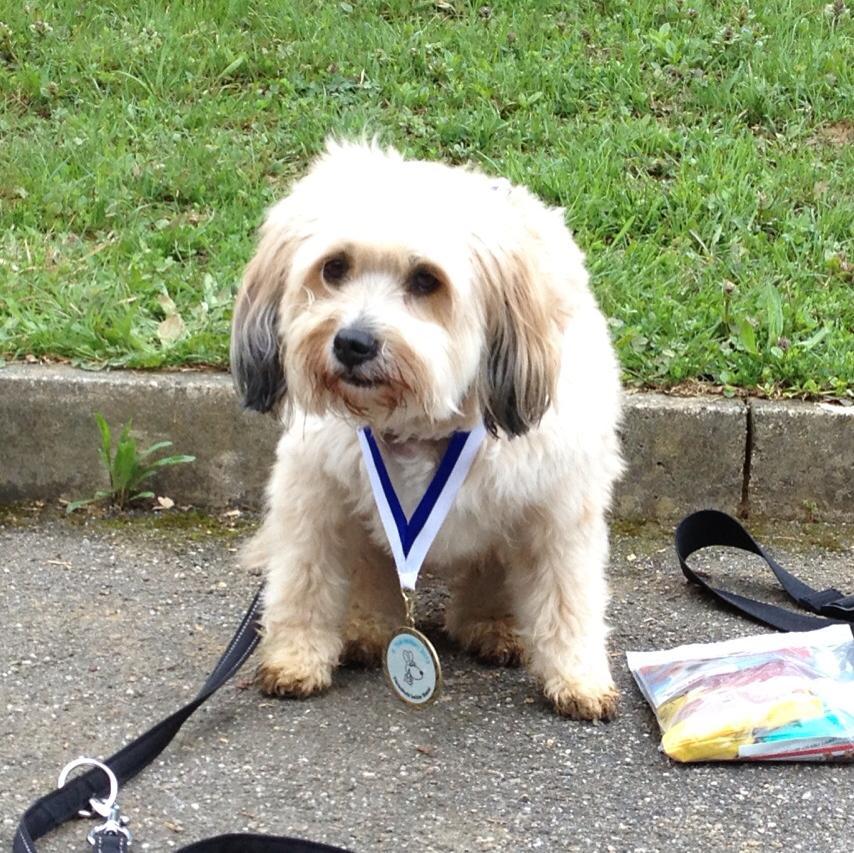 Boncuk mit Ihrer Military-Medaille