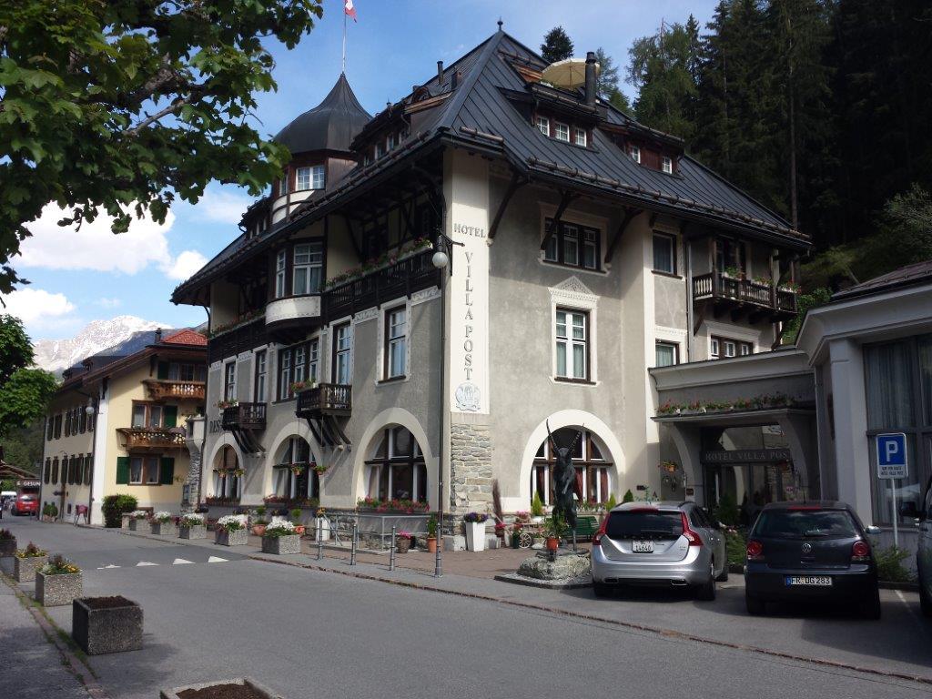 Hotel Villa Post, Tarasp Vulpera